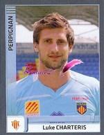 Image PANINI Sport RUGBY 2012-2013 (top 14 Pro D2) N° 267 Perpignan CHARTERIS - Panini