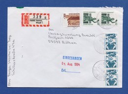 Bund R-Brief Einschreiben MiF - HAMM, WESTF - BRD