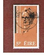 IRLANDA (IRELAND) -  SG 207   -    1965  W.B.  YEATS, POET  - USED - 1949-... Repubblica D'Irlanda