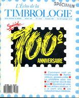 L'écho De La Timbrologie N.1592,taille-douce Fabrication Timbre,emission Bordeaux,ballon Monté,Béquet 0.80 Varieté,naval - Revistas