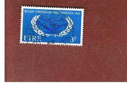 IRLANDA (IRELAND) -  SG 209   -    1965 INT. CO-OPERATION YEAR   - USED - Usati