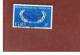 IRLANDA (IRELAND) -  SG 209   -    1965 INT. CO-OPERATION YEAR   - USED - 1949-... Repubblica D'Irlanda