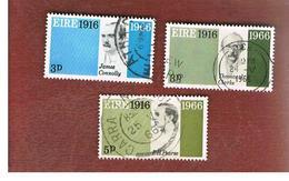 IRLANDA (IRELAND) -  SG 213.215   -    1966  EASTER RISING    - USED - 1949-... Repubblica D'Irlanda