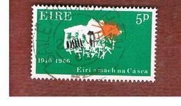 IRLANDA (IRELAND) -  SG 216   -    1966  EASTER RISING: MARCHING TO FREEDOM    - USED - 1949-... Repubblica D'Irlanda