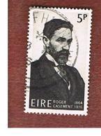 IRLANDA (IRELAND) -  SG 221   -    1966  R. CASEMENT, PATRIOT   - USED - 1949-... Repubblica D'Irlanda