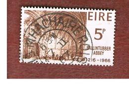 IRLANDA (IRELAND) -  SG 225   -    1966 BALLINTUBBER AVVEY   - USED - 1949-... Repubblica D'Irlanda