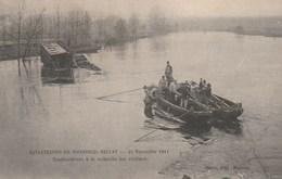 Catastrophe De Montreuil Bellay 21 Nov 1911 Scaphandriers A La Recherche De Victimes - Montreuil Bellay