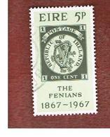 IRLANDA (IRELAND) -  SG 235   -    1967  FENIAN RISING CENTENARY  - USED - 1949-... Repubblica D'Irlanda