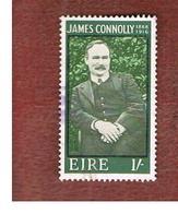 IRLANDA (IRELAND) -  SG 246   -    1968  J. CONNOLLY, PATRIOT   - USED - 1949-... Repubblica D'Irlanda