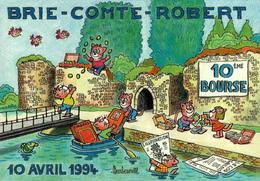 BRIE-COMTE-ROBERT - 10e Bourse - 1994 - Bourses & Salons De Collections