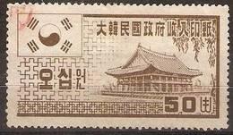 Korea - 1962 Revenue (50w)  (Hasegawa Ref 55) - Korea, South
