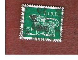 IRLANDA (IRELAND) -  SG 252   -    1968   STYLIZED  DOG   5 P   - USED - Usati