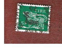 IRLANDA (IRELAND) -  SG 252   -    1968   STYLIZED  DOG   5 P   - USED - 1949-... Repubblica D'Irlanda