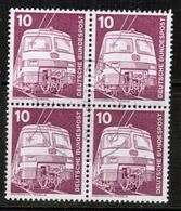 GERMANY  Scott # 1171  VF USED BLOCK Of 4 (Stamp Scan # 464) - [7] Federal Republic