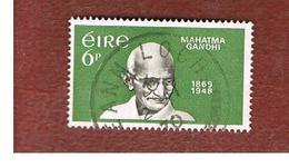 IRLANDA (IRELAND) -  SG 272   -    1969   MAHATMA GANDHI   - USED - 1949-... Repubblica D'Irlanda