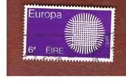 IRLANDA (IRELAND) -  SG 276  -    1970  EUROPA   - USED - 1949-... Repubblica D'Irlanda