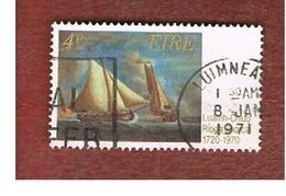 IRLANDA (IRELAND) -  SG 279  -    1970  ROYAL CORK YACHT CLUB  - USED - 1949-... Repubblica D'Irlanda