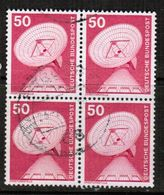 GERMANY  Scott # 1175  VF USED BLOCK Of 4 (Stamp Scan # 464) - [7] Federal Republic