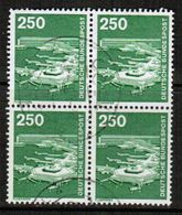 GERMANY  Scott # 1190  VF USED BLOCK Of 4 (Stamp Scan # 464) - [7] Federal Republic