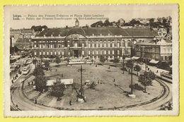 * Liège - Luik (La Wallonie) * (PIB - P.I.B.) Palais Des Princes Eveques Et Place Saint Lambert, Tram, Vicinal, Rare - Luik