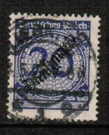 GERMANY  Scott # O 50  VF USED (Stamp Scan # 464) - Germany