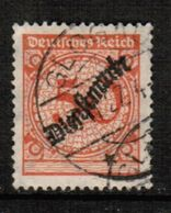 GERMANY  Scott # O 51  VF USED (Stamp Scan # 464) - Germany