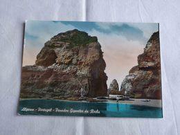 ANTIQUE PHOTO POSTCARD PORTUGAL PRAIA DA ROCHA - PENEDOS GIGANTES UNUSED - Faro