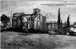 ENVIRONS DE CHATEAUNEUF SUR CHARENTE L'EGLISE DE BOUTEVILLE TBE - Chateauneuf Sur Charente