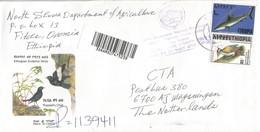 Ethiopia 2007 Finche Shark Woodpecker Registered Cover - Ethiopië