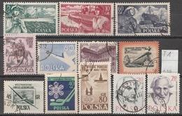 Polen Lot ältere Marken Gestempelt (T1) - Briefmarken