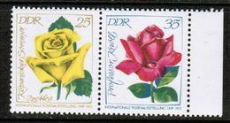 GERMAN DEMOCRATIC REPUBLIC  Scott # 1383B-C** VF MINT NH SE-TENNANT PAIR (Stamp Scan # 464) - [6] Democratic Republic