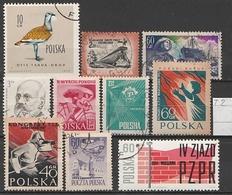 Polen Lot ältere Marken Gestempelt (T2) - Lots & Kiloware (max. 999 Stück)