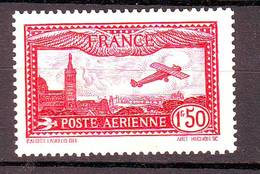 FRANCE  Poste Aérienne N° 5 Neuf*  Cote 26 Euros - 1927-1959 Matasellados