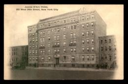 ETATS-UNIS - NEW YORK CITY - JEANNE D'ARC HOME - New York City