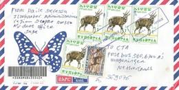 Ethiopia 2003 Deegaa Simien Fox Bushbuck Registered Cover - Ethiopië