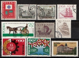 Polen Lot  Gestempelt (T4) - Briefmarken