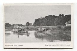 Soerabaja - Rivier Kalimaas - Old Indonesia Postcard - Indonesia