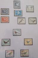 """Thématique """"Oiseaux"""" Timbres Obl. Et Neuf De Suede ( 8 Scans ) - Collections, Lots & Series"""