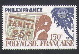 FRENCH POLYNESIA, 1982 Philexfrance'82 1v MNH - Neufs