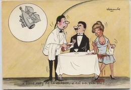 CPSM - ILLUSTRATION ALEXANDRE - VIN - Edition Gpt Des Humoristes De Presse M.Vaysse - Alexandre