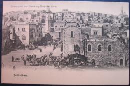 HAMBURG AMERIKA FAHRT ORIENT 1904 JERUSALEM BETHLEHEM ISRAEL PALESTINE 1898 POST VINTAGE POSTCARD PC STAMP TOURISM PHOTO - Israel