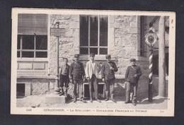 Vente Immediate Gerardmer - La Schlucht - Douaniers Francais Au Poteau ( Frontiere Douane Douanier ) - Gerardmer