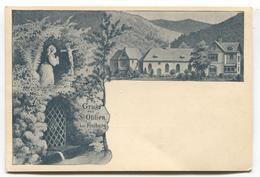 Gruss Aus St Otilien Bei Freiburg - Early Germany Postcard, Undivided Back - Freiburg I. Br.