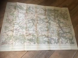 DÎNANT 1939 Carte Militaire - Cartes Géographiques