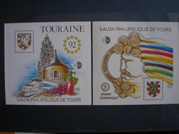 FRANCE - Blocs CNEP N° 14/15 - TOURS - LUXES ** -  Cote De 200€ - CNEP
