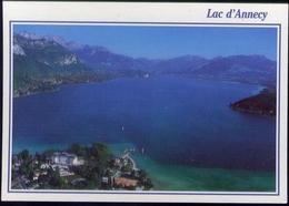 Lac D'annency - L'imperial Hotel Casino Centre De Congres Veyrier - Formato Grande Non Viaggiata - Cartoline