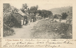 Dominica , A Village W.I.  Edit Pinard  Undivided Back  1905 Balahon Town Goodwill Estate Quarantine Station - Dominica