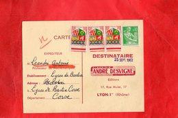 F0403 - Librairie ANDRE DESVIGNE - Carte Demande De Spécimens Gratuits - Commerce