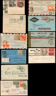 Mexico - XX. 1930-47. 10 Diff Better Multiple Fkg / Regulated Etc. VF. - Mexico