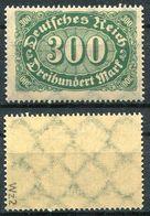 Deutsches Reich Michel-Nr. 249 Postfrisch - Geprüft - Deutschland